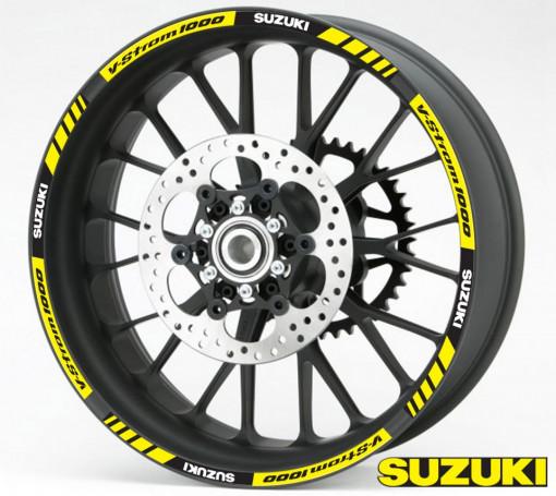 Rim Stripes - Suzuki V-Strom 1000 galben