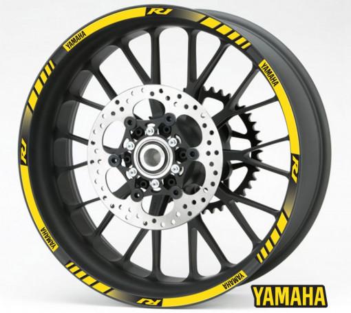 Rim Stripes - Yamaha R1 galben