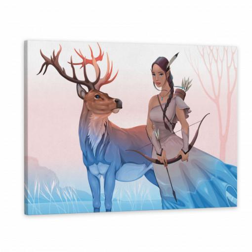 Tablou Canvas, Renul & Eroina