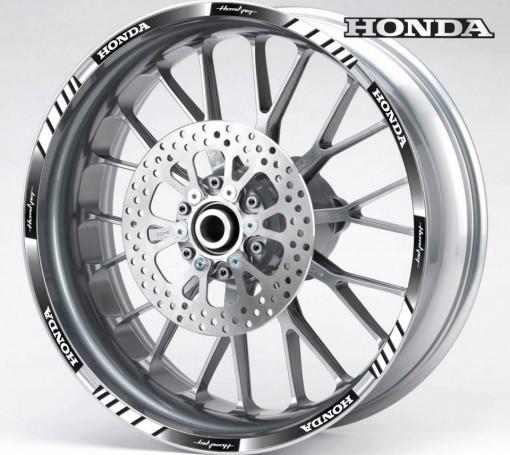 Rim Stripes - Honda Hornet negru