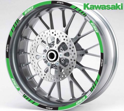 Rim Stripes - Kawasaki Ninja 650