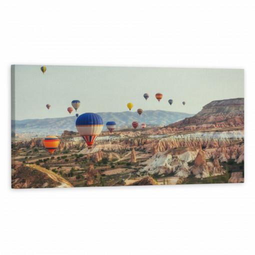 Tablou Canvas, Baloane cu aer cald