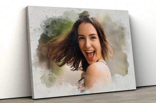 Canvas Personalizat - Efect de Pictura