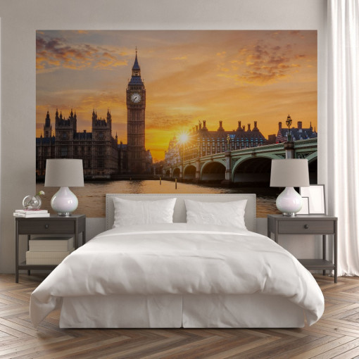 Fototapet autoadeziv - London Sunset