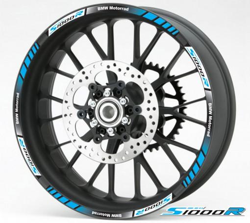 Rim Stripes - BMW S1000R albastru