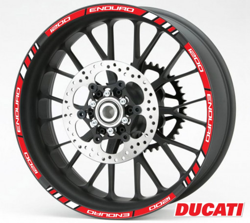 Rim Stripes - Ducati 1200 Enduro