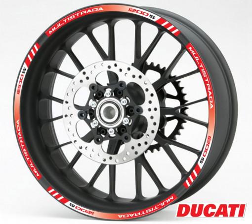 Rim Stripes - Ducati Multistrada 1200 S