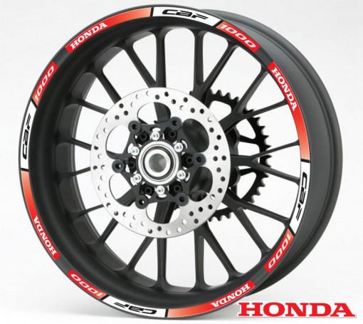 Rim Stripes - Honda CBF 1000 rosu
