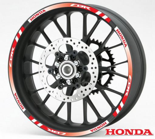 Rim Stripes - Honda CBR rosu
