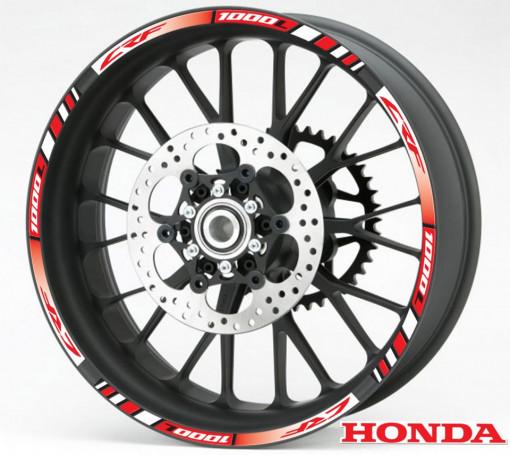 Rim Stripes - Honda CRF 1000L rosu