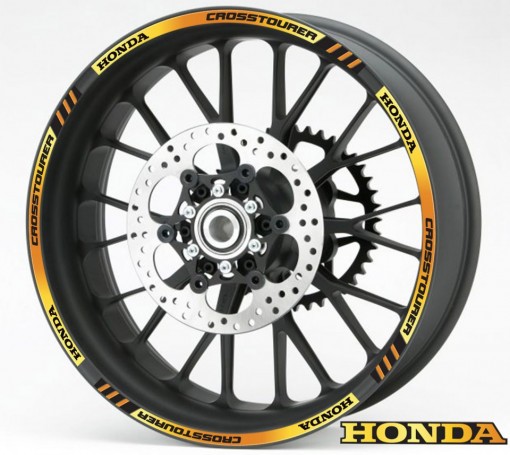 Rim Stripes - Honda Crosstourer auriu