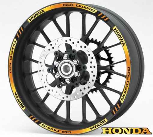 Rim Stripes - Honda Goldwing auriu
