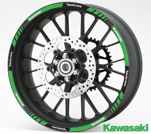 Rim Stripes - Kawasaki Vulcan
