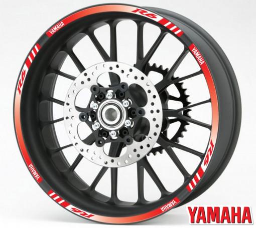 Rim Stripes - Yamaha R6 rosu