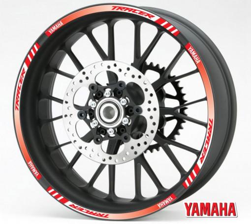 Rim Stripes - Yamaha Tracer rosu