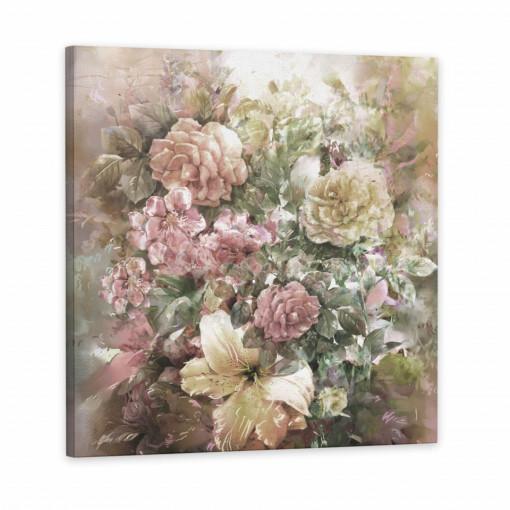Tablou Canvas, Crini & Trandafiri
