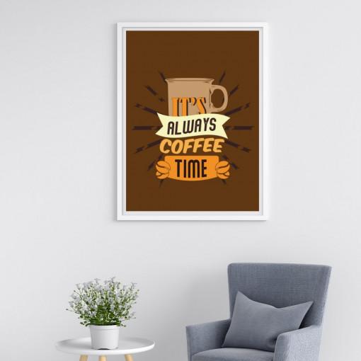 Tablou - It's always coffee time