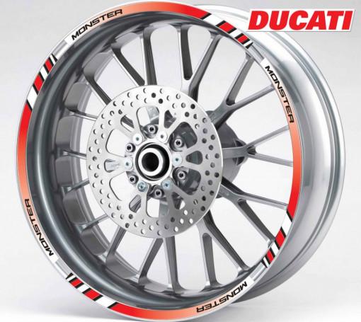 Rim Stripes - Ducati Monster