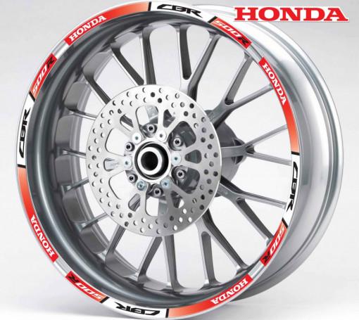 Rim Stripes - Honda CBR 500R rosu