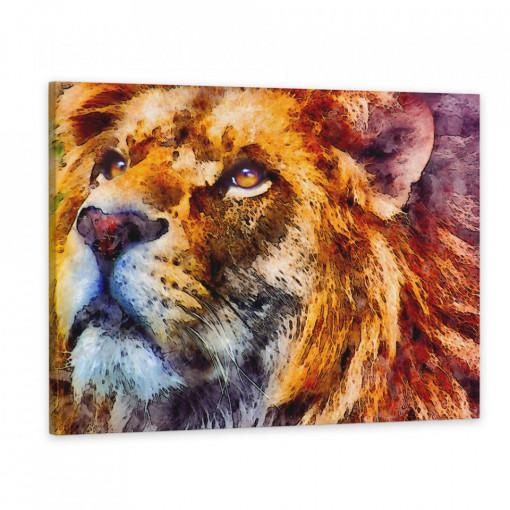 Tablou Canvas, Regele Leu
