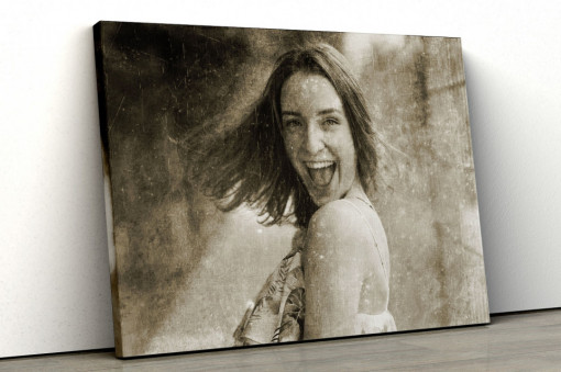 Canvas Personalizat - Efect Antic