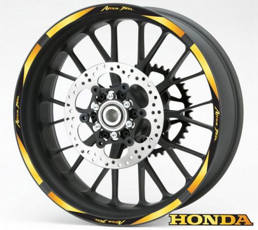Rim Stripes - Honda Africa Twin auriu