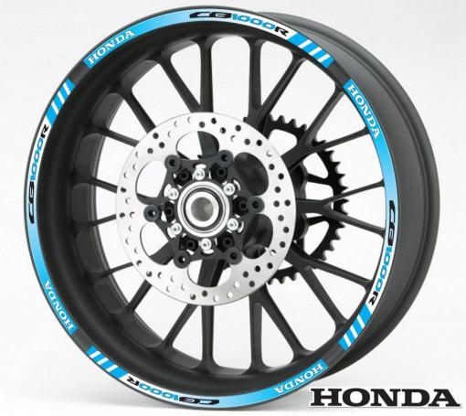 Rim Stripes - Honda CB1000R albastru