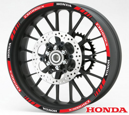 Rim Stripes - Honda CB1100EX rosu