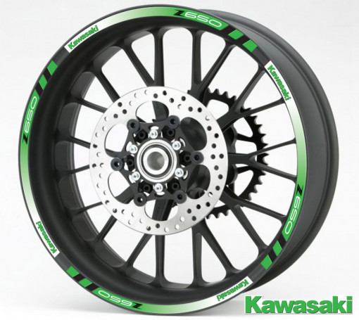 Rim Stripes - Kawasaki Z650