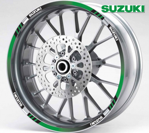 Rim Stripes - Suzuki verde