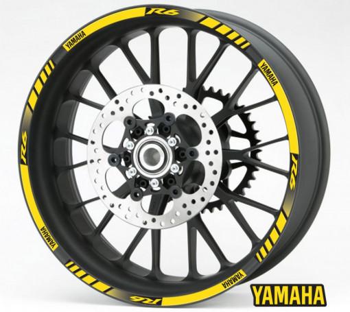 Rim Stripes - Yamaha R6 galben