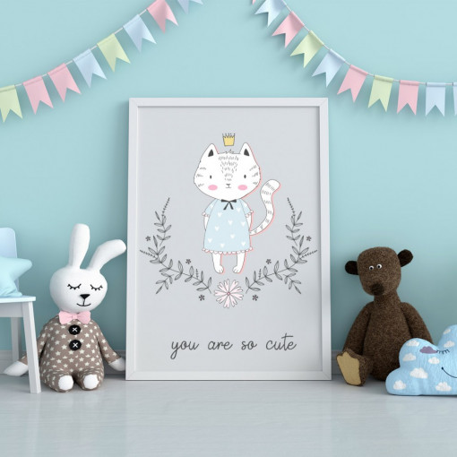 Tablou - Pisica - You are so cute