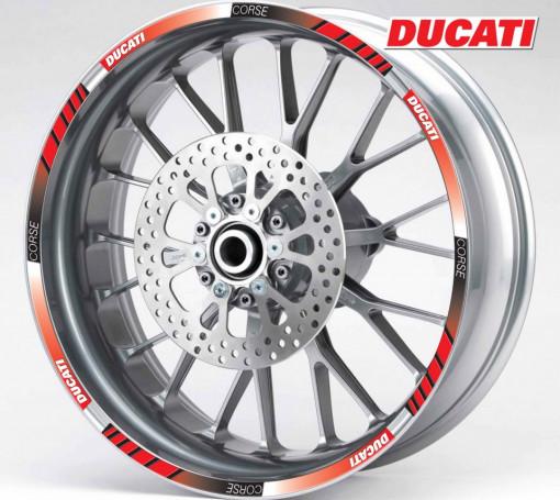 Rim Stripes - Ducati Corse