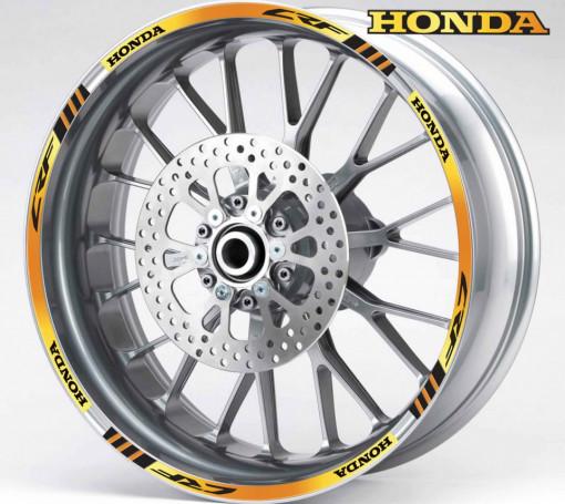 Rim Stripes - Honda CRF auriu