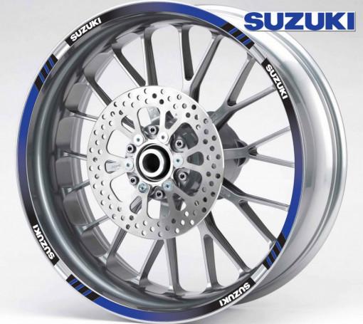 Rim Stripes - Suzuki albastru