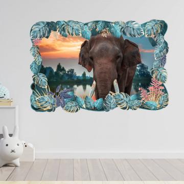 3D Sticker perete - Animale salbatice32