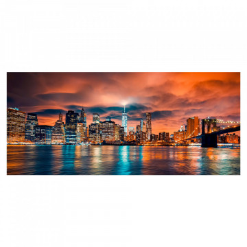 Fototapet autoadeziv - City Sunset