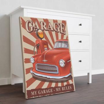 Tablou Canvas, My garage