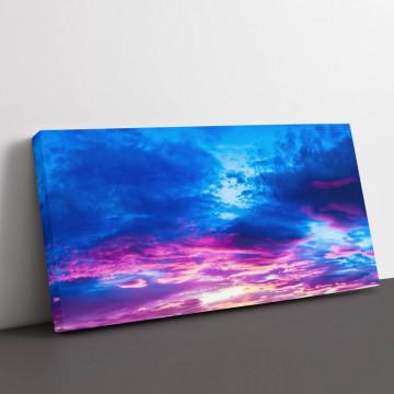 Tablou Canvas, Purple sky