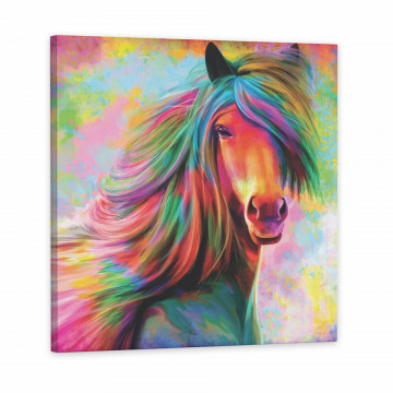 Tablou Canvas, Rainbow Horse