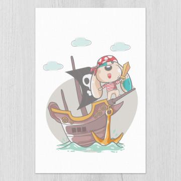 Tablou - Catelusul pirat