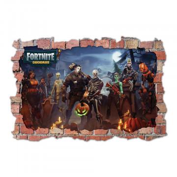 3D Sticker perete 60x90cm - Fortnite 5