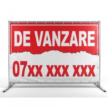Banner personalizat - De Vanzare