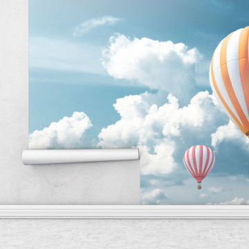 Fototapet autoadeziv - Balon cu aer