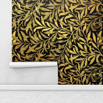 Fototapet autoadeziv - Frunze aurii
