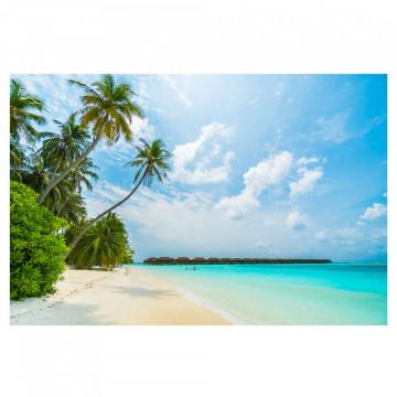 Fototapet autoadeziv - Plaja din Maldive