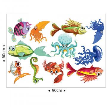 Set stickere decorative perete copii - Pesti2