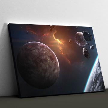 Tablou Canvas, Explozie cosmica
