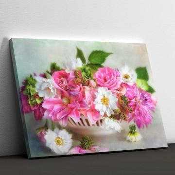 Tablou Canvas, Tavita cu flori