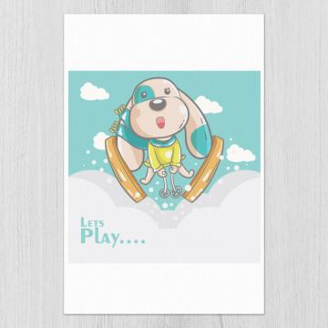 Tablou - Catelusul letꞌs play